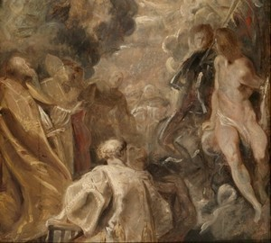 Эскиз Всех святых - Рубенс