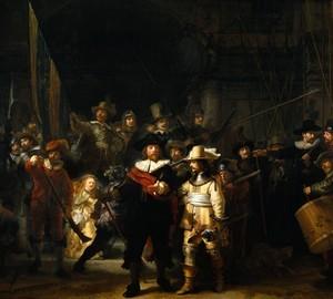 Описание картины Рембрандта Ночной дозор, 1642