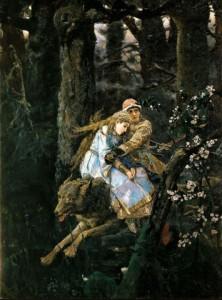 Сочинение по картине «Иван-царевич на сером волке Виктора Васнецова»