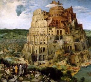 Вавилонская башня, Питер Брейгель Старший, 1563