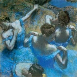 Дега Э. «Голубые танцовщицы»