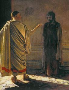 Христос и Пилат