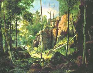 Иван Шишкин. На острове Валаам