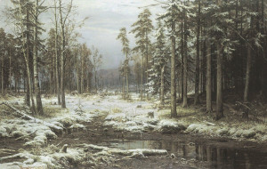 Иван Шишкин. Первый снег