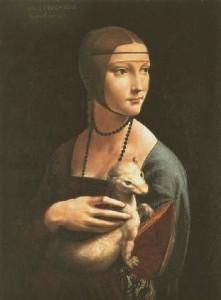 Леонардо да Винчи «Дама с горностаем »