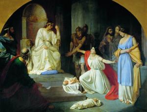 Николай Ге. Суд царя Соломона
