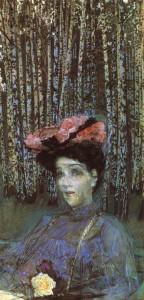 Портрет Н.И. Забелы-Врубель