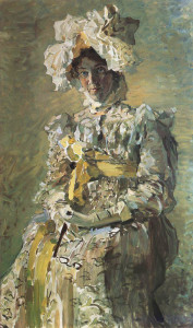 Портрет артистки Н.И. Забелы-Врубель.