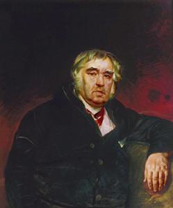 Портрет баснописца И.А.Крылова