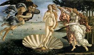Сандро Боттичелли Рождение Венеры