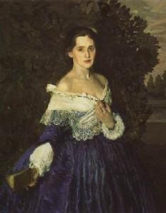 Сомов К.«Дама в голубом»