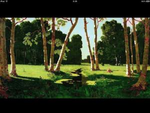Сочинение по картине А.И. Куинджи «Березовая роща»