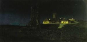 Сочинение по картине А.И. Куинджи «Украинская ночь»