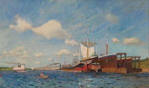 Сочинение по картине И.И. Левитана «Свежий ветер. Волга»