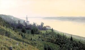 Сочинение по картине И.И. Левитана «Вечер. Золотой плёс»
