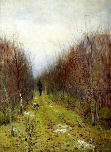 Сочинение по картине И.И. Левитана Осень. Охотник