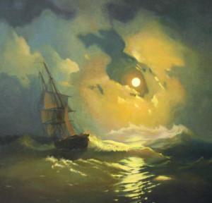 Сочинение по картине И.К. Айвазовского «Буря на море ночью»