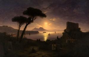 Сочинение по картине И.К. Айвазовского «Неаполитанский залив в лунном свете»