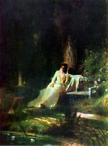 Сочинение по картине И.Н. Крамского «Лунная ночь»