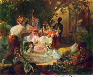 Сочинение по картине К.П. Брюллова «Бахчисарайский фонтан»