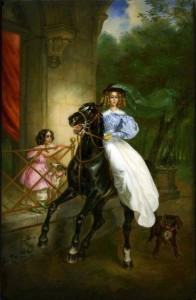 Сочинение по картине К.П. Брюллова «Всадница»