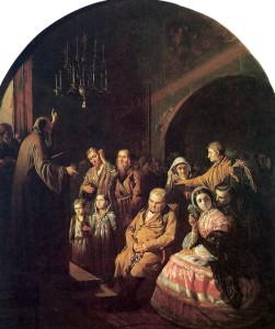 Сочинение по картине В.Г. Перова «Проповедь в селе»