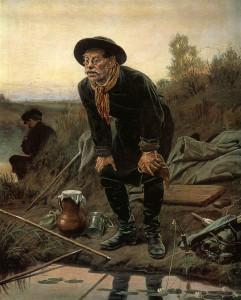 Сочинение по картине В.Г. Перова «Рыболов»