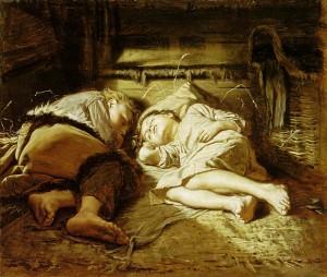 Сочинение по картине В.Г. Перова «Спящие дети»