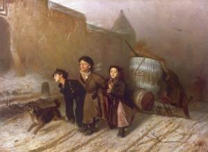 Сочинение по картине В.Г. Перова «Тройка»