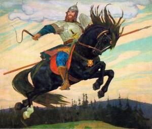 Сочинение по картине В.М. Васнецова «Богатырский скок»