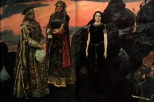 Сочинение по картине В.М. Васнецова «Три царевны подземного царства»
