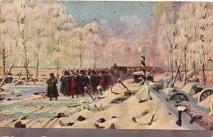 Сочинение по картине В.В. Верещагина «На большой дороге - отступление, бегство...»